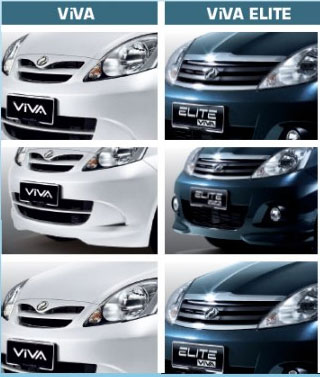 new perodua viva 2011. By comparing the earlier Viva