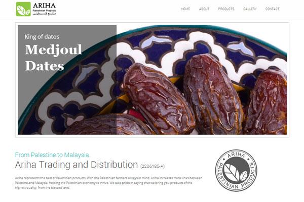 Ariha Products - jual kurma Palestin