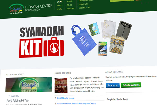 Hidayah Centre Foundation - bimbingan kepada muallaf