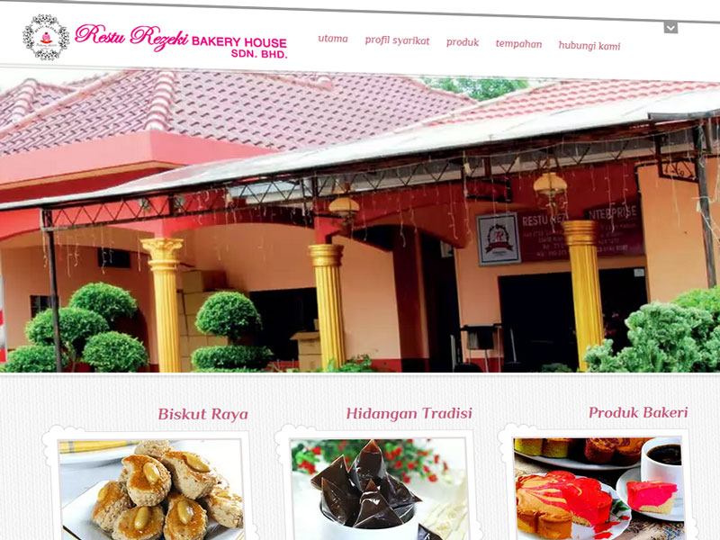 Restu Rezeki Bakery House - produk bakeri majlis perkahwinan
