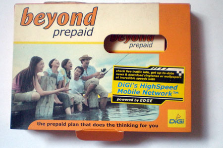 Digi Beyond Prepaid Simpack