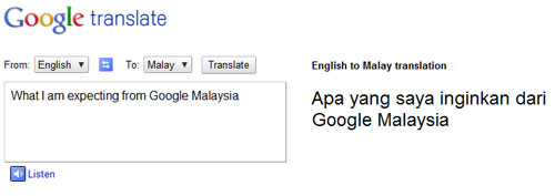 Google translate malay-3075